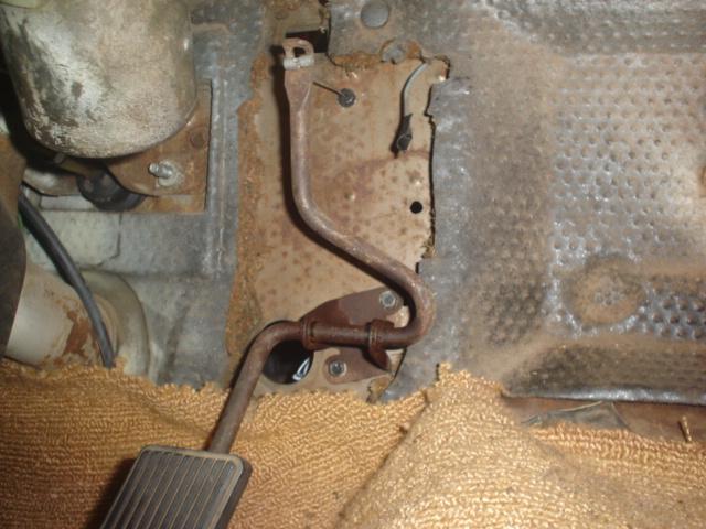 Lokar Throttle Cable Stock Accelerator Pedal 1969 70