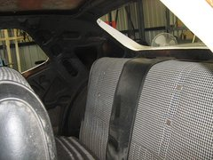 My Mustang b4 restoration in our shed 001 (9).JPG