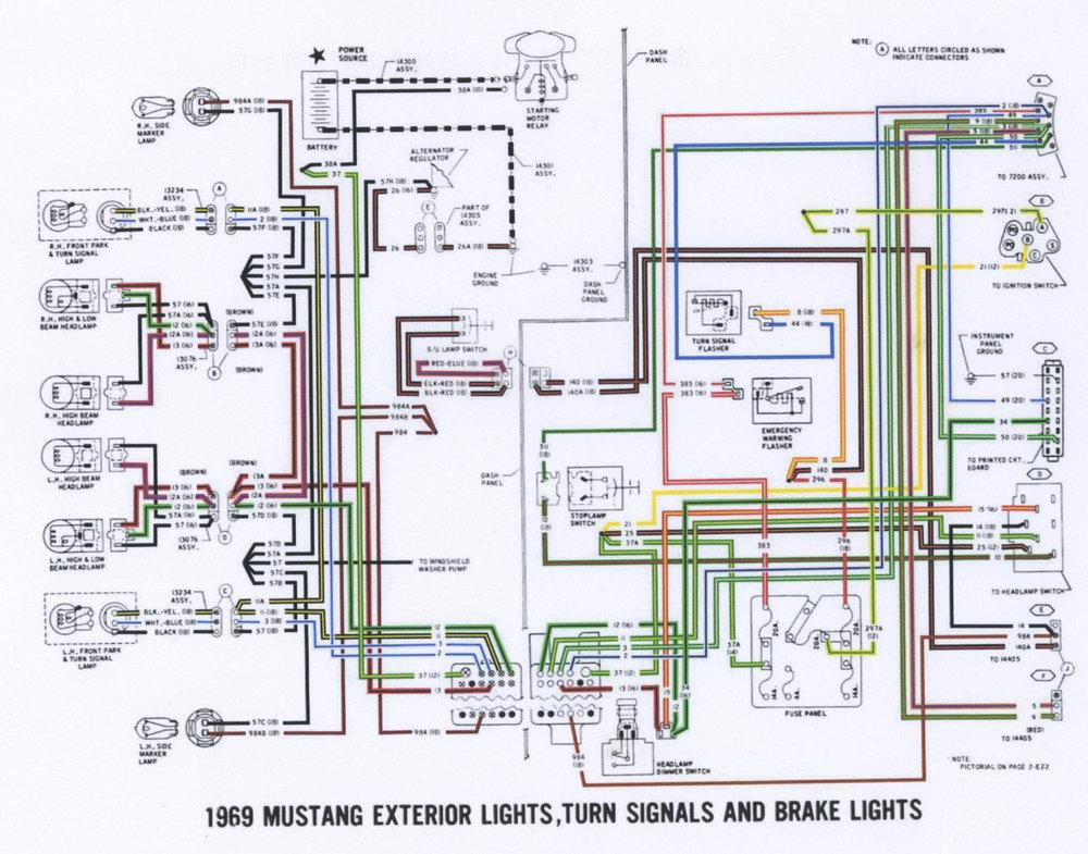 1969 Mustang Exterior Lights Wiring Diagram P1.jpg