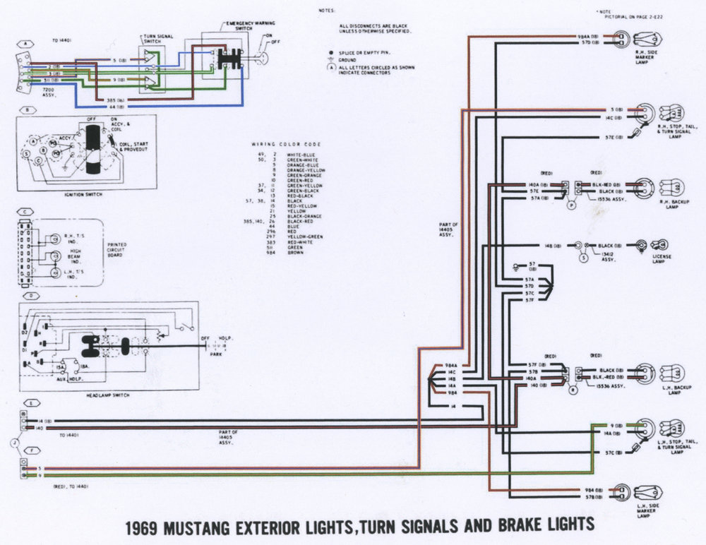 1969 Mustang Exterior Lights Wiring Diagram P2.jpg