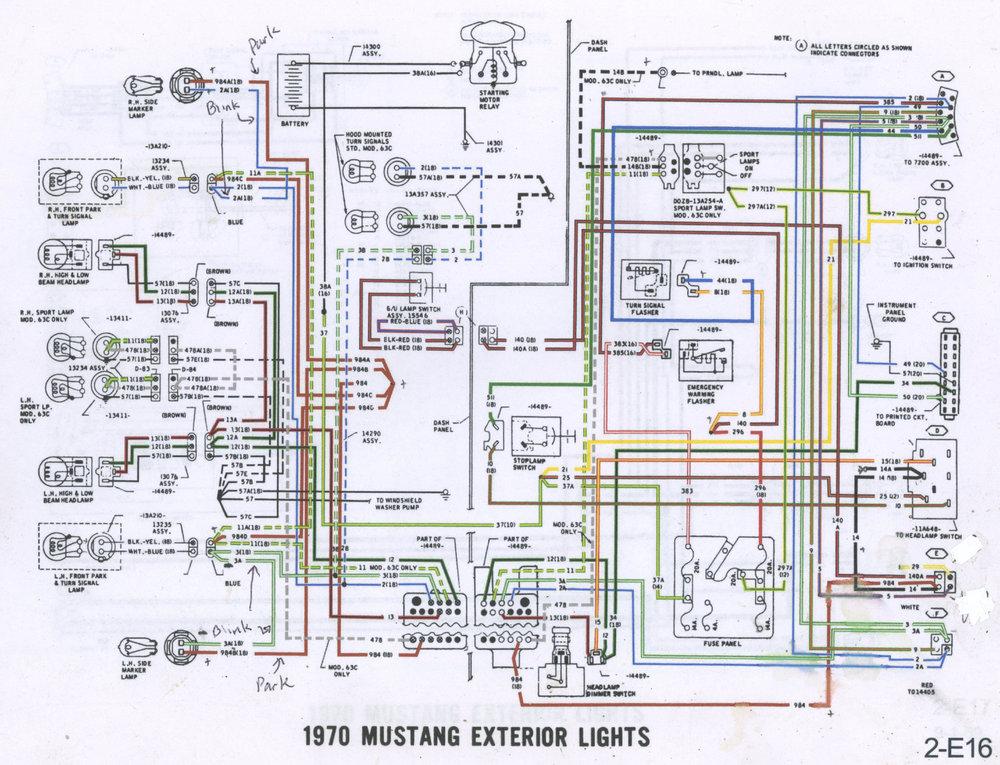 1970 Mustang Exterior Lights Wiring Diagram P1.jpg