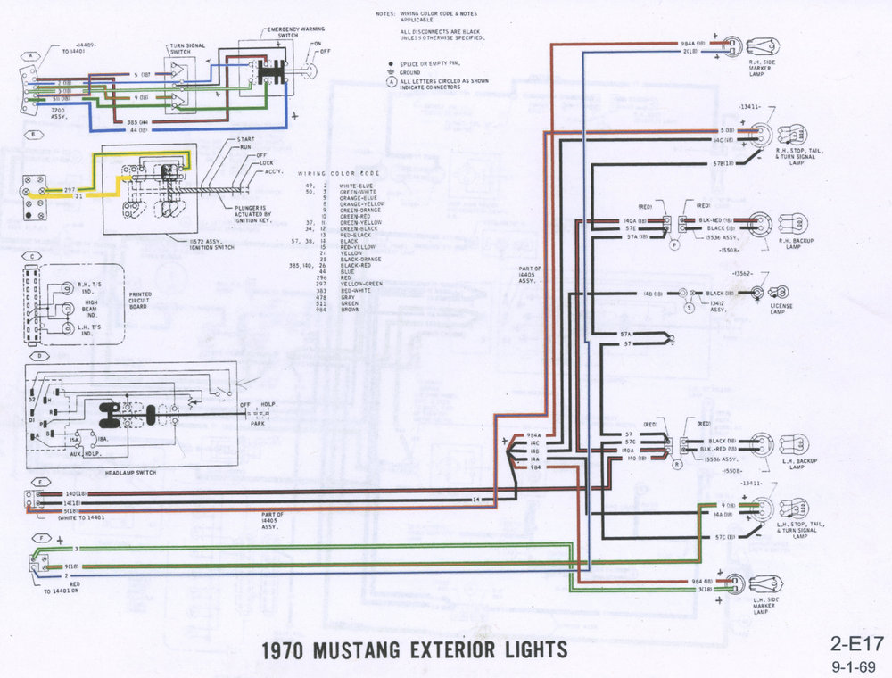 1970 Mustang Exterior Lights Wiring Diagram P2.jpg