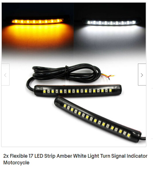 Flexible 17 LED Strip Amber White Light Turn Signal Indicator Motorcycle.png